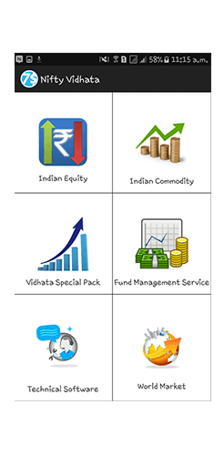 NIFTY vidhata categories